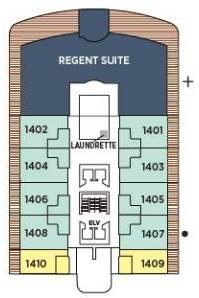 Regent Explorer - Deck Deck 14
