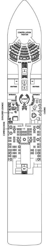Regent Explorer - Deck Deck 4