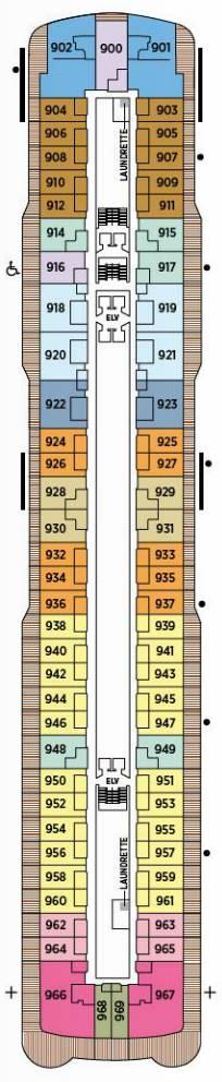 Regent Explorer - Deck Deck 9