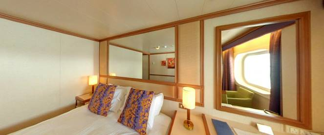 Ventura Cabins Luxury Suites Aboard This Ship Sovereign