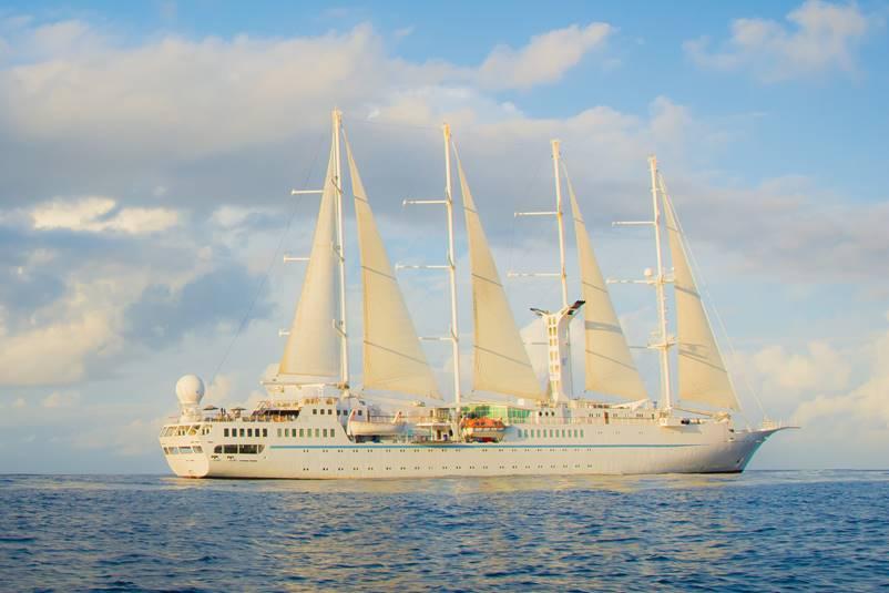 Wind Spirit Set Sail With Windstar Cruises - Wind spirit