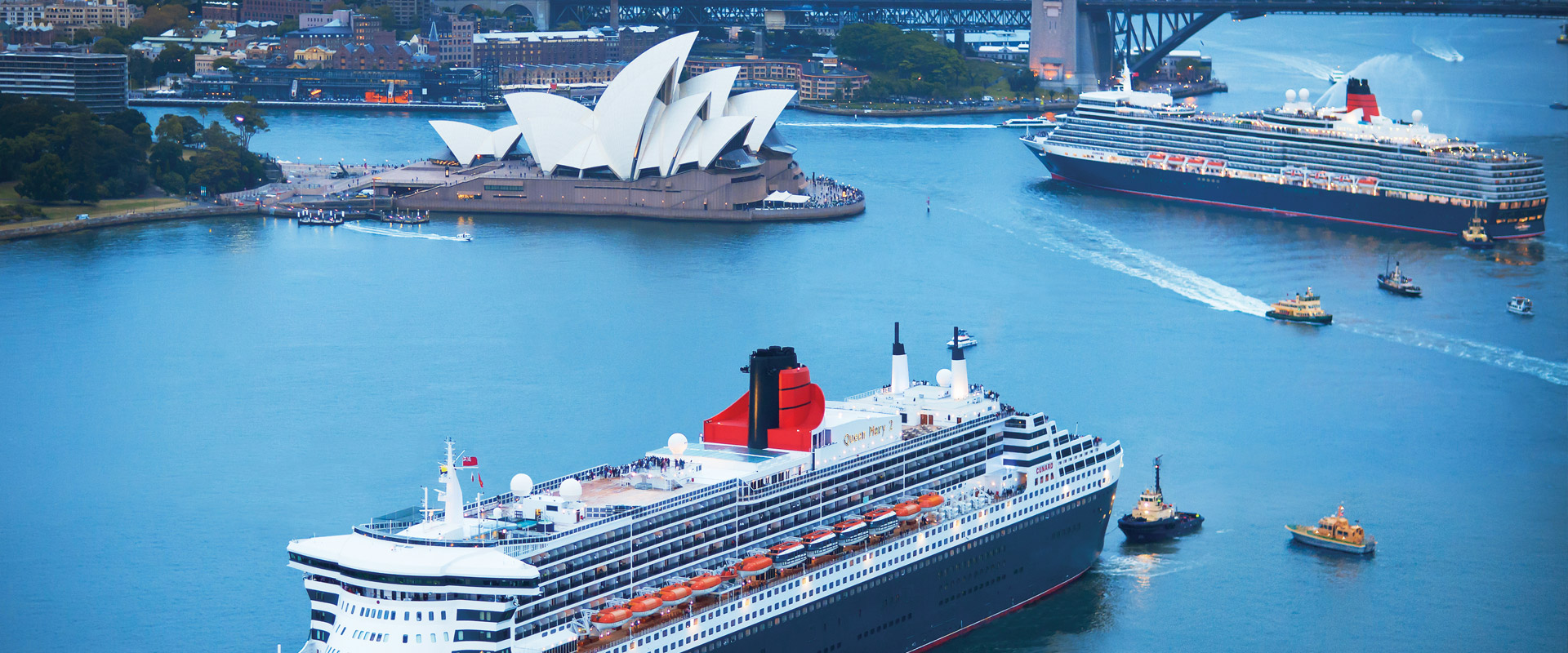 Cunard Presents Speakers Across the Spectrum