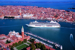 Crystal Serenity in Venice