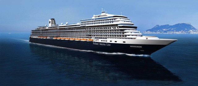 Koningsdam to Sail from Amsterdam in 2016