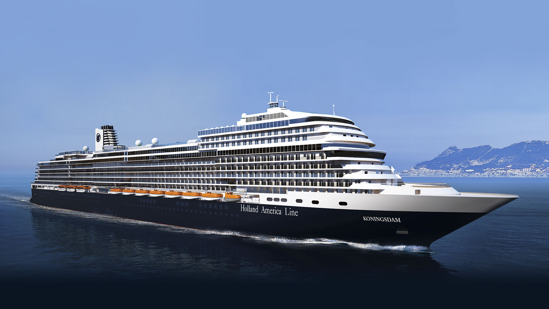 Koningsdam Captain Announcement