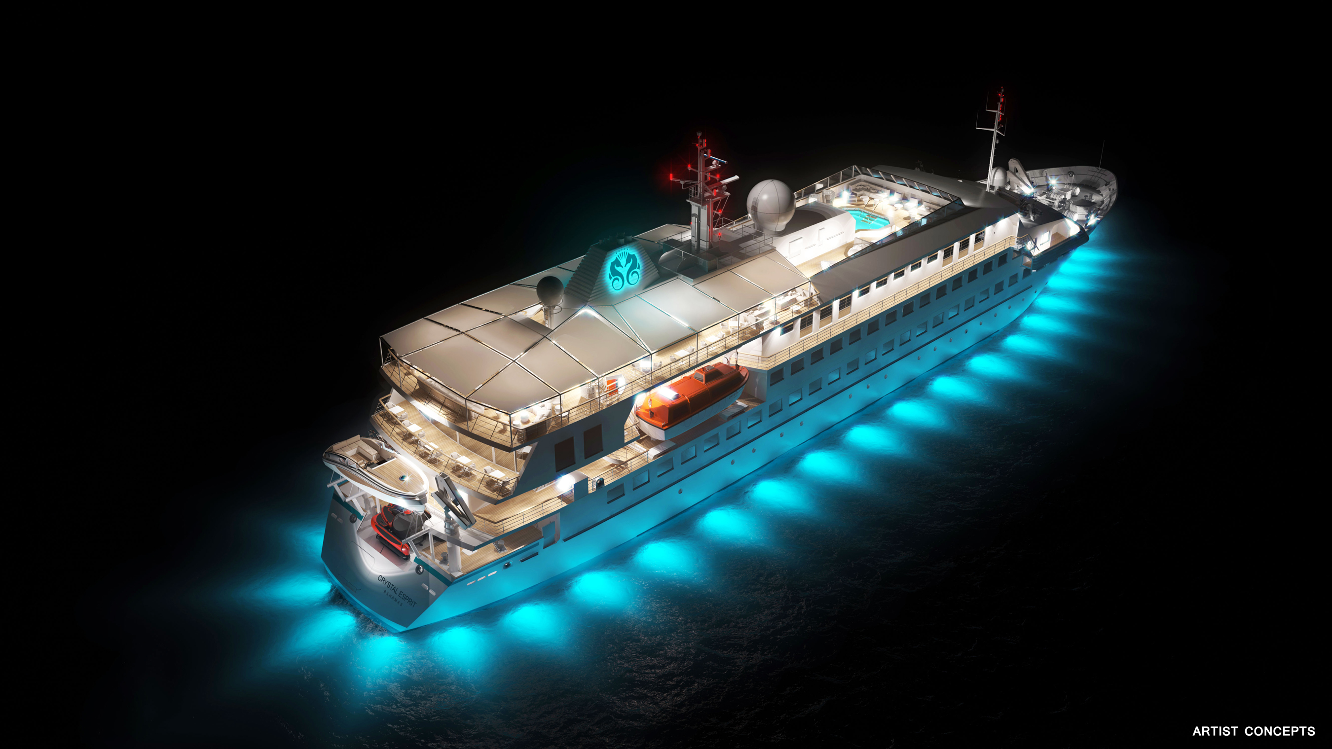 Crystal's Yacht Esprit Now Open for Bookings!