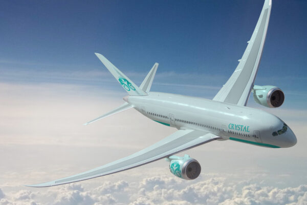 Sovereign Blog - Crystal Unveil Design Details for Luxury Aircraft