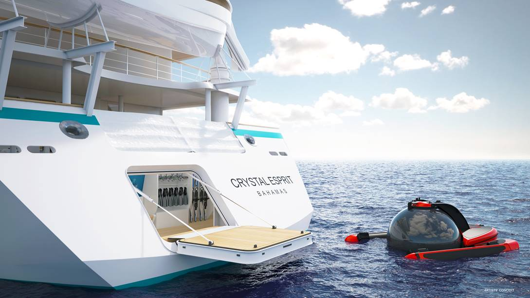 Crystal Confirms Thrilling Yacht Features