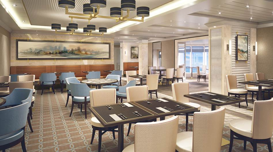 Cunard Redesign QM2 Kings Court