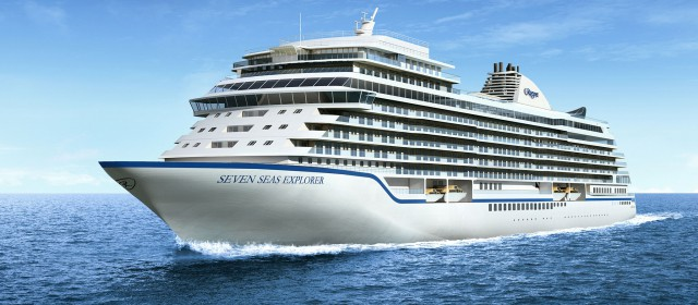 Regent Announce Godmother for Explorer