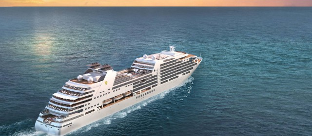 Seabourn Ovation Keel Laying Ceremony
