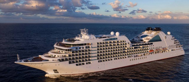Seabourn Encore Christened