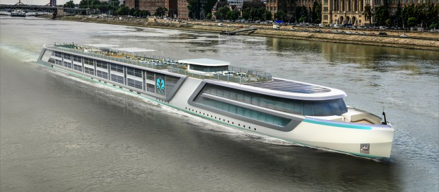 Crystal's New River Cruise Ship Delivered