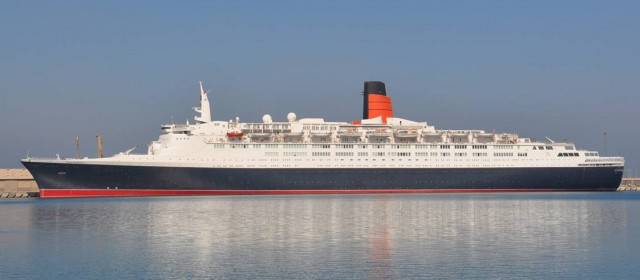 QE2 Opens as a Floating Hotel Next Week