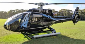 Scenic Eclipse Airbus H130 Helicopter