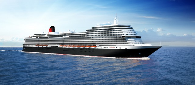 Cunard unveil new ship design team