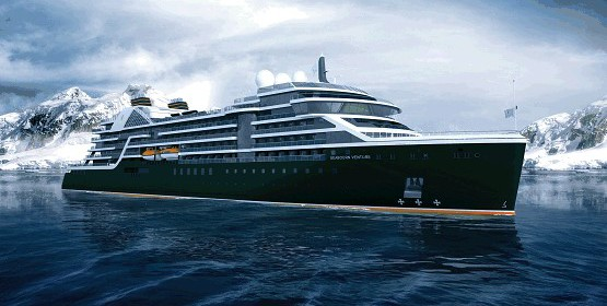 "Introducing ""Seabourn Venture"""