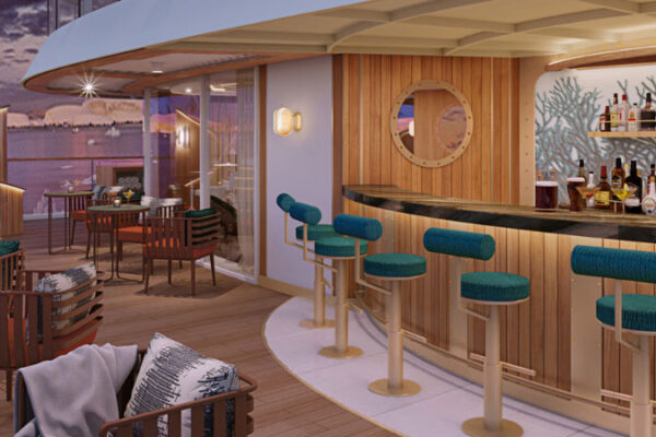 Sovereign Blog - The Club and Sky Bar revealed for Seabourn Venture