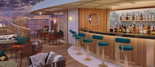 The Club and Sky Bar revealed for Seabourn Venture